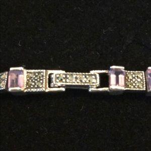 Jewelry - Stunning Vintage Amethyst Bracelet